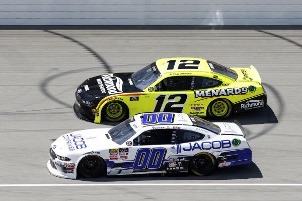 #12: Paul Menard, Team Penske, Ford Mustang Menards/Richmond #00: Cole Custer, Stewart-Haas Racing, Ford Mustang Jacob Companies