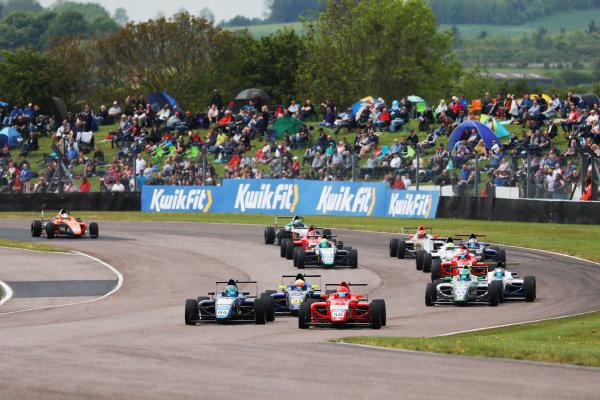 British F4 Start Thruxton