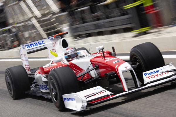 Jarno Trulli, Toyota TF109.