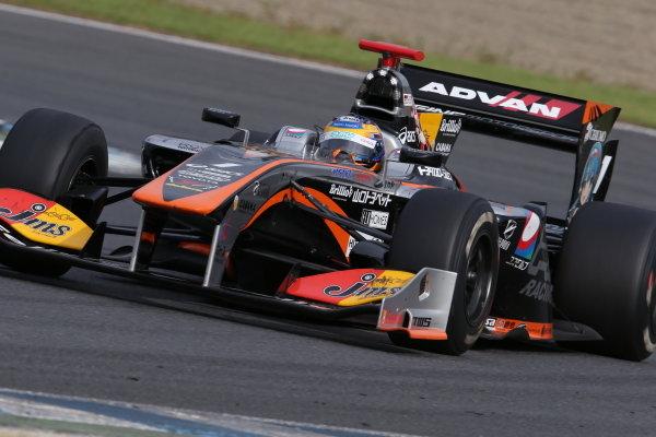 Race winner Hiroaki Ishiura, JMS P.mu/CERUMO - INGING SF14 Toyota.