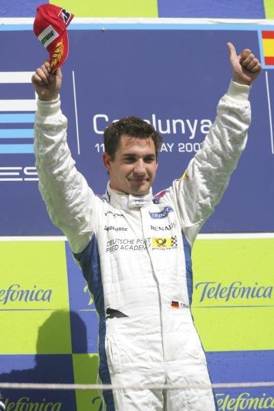 2007 GP2 Series. Round 2. Sunday RaceBarcelona, Spain. 13th May 2007. Timo Glock (GER, iSport International). World Copyright: Andrew Ferraro/GP2 Series Media Sevice  ref: Digital Image ZP9O7168