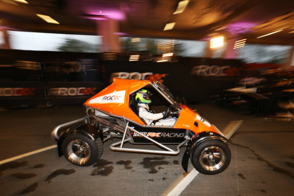 2015 Race Of Champions Olympic Stadium, London, UK Thursday 19 November 2015 Felipe Massa (BRA) in the ROC Buggy for Practice Copyright Free FOR EDITORIAL USE ONLY. Mandatory Credit: 'Race Of Champions'