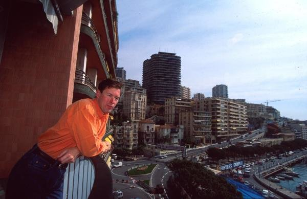 Colin McRae at home in Monte Carlo.Drivers At Home