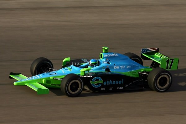Jeff Simmons (USA), Rahal Letterman Racing Dallara Honda. IRL IndyCar Series, Rd1, XM Satellite Indy 300, Homestead-Miami Speedway, Homestead, FLorida, USA. 23-25 March 2007. DIGITAL IMAGE