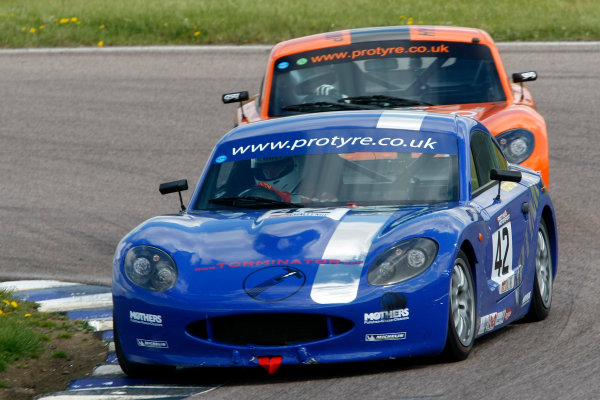 2013 Ginetta GT5 Challenge Rockingham, 5th and 6th May, 2013 Tor McIlroy World Copyright. Ebrey/LAT Photographic