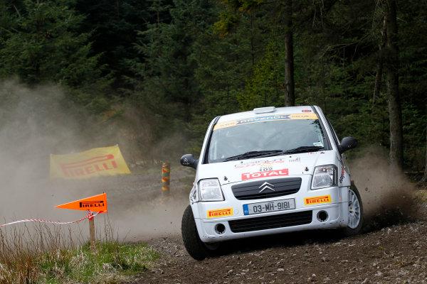 2013 MSA British Rally Championship, Pirelli Richard Burns Foundation Rally, Carlisle. 4th - 5th May 2013. David Carney / Ray Fitzpatrick Citroen C2R2 Max. World Copyright: Ebrey / LAT Photographic.