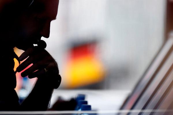 Circuit de Catalunya, Barcelona, Spain 11th May 2013. Christian Horner, Team Principal, Red Bull Racing. World Copyright: Glenn Dunbar/LAT Photographic ref: Digital Image _89P3459