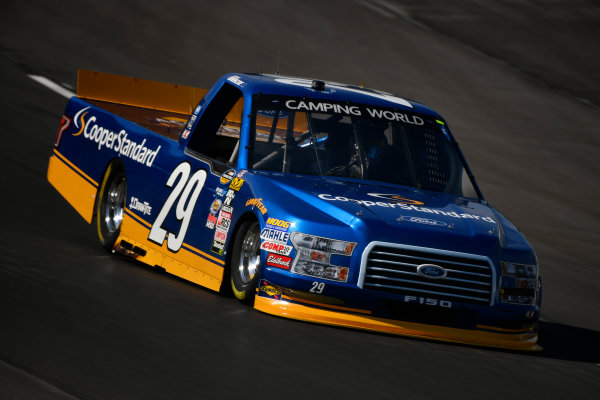 NASCAR Camping World Truck Series winstaronlinegaming.com 400 Texas Motor Speedway, Ft. Worth, TX USA Thursday 8 June 2017 Chase Briscoe, Cooper Standard Ford F150 World Copyright: Scott R LePage LAT Images ref: Digital Image lepage-170608-TMS-0221
