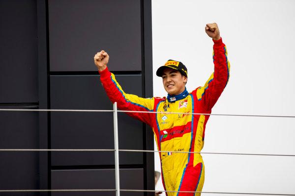 2017 GP3 Series Round 3.  Silverstone, Northamptonshire, UK. Sunday 16 July 2017. Giuliano Alesi (FRA, Trident).  Photo: Zak Mauger/GP3 Series Media Service. ref: Digital Image _56I0160