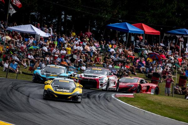 28-31 July, 2016, Lexington, Ohio USA Alvaro Parente, #9 McLaren leads en route to victory. ?2016, Brian Cleary LAT Photo USA
