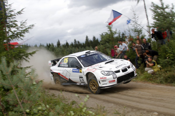 Round 08Rally Finland 29-31 July 2010Mads Ostberg, Subaru WRC, ActionWorldwide Copyright: McKlein/LAT