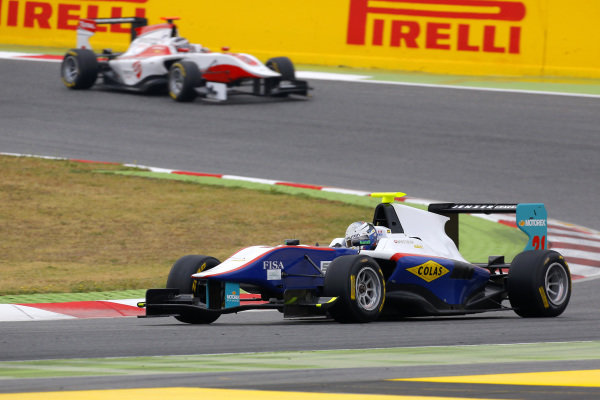 Matheo Tuscher (SUI) Jenzer Motorsport. GP3 Series, Rd1, Barcelona, Spain, 9-11 May 2014.