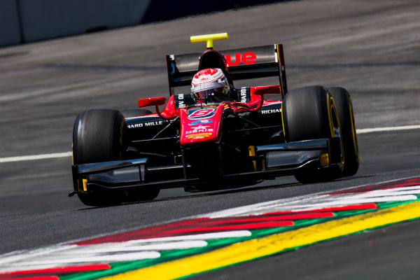 2017 FIA Formula 2 Round 5. Red Bull Ring, Spielberg, Austria. Friday 7 July 2017. Alexander Albon (THA, ART Grand Prix).  Photo: Zak Mauger/FIA Formula 2. ref: Digital Image _56I0635