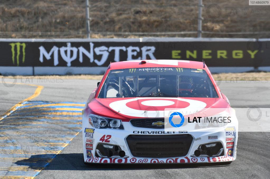 Monster Energy NASCAR Cup Series Toyota/Save Mart 350 Sonoma Raceway, Sonoma, CA USA Friday 23 June 2017 Kyle Larson, Chip Ganassi Racing, Target Chevrolet SS World Copyright: John K Harrelson LAT Images