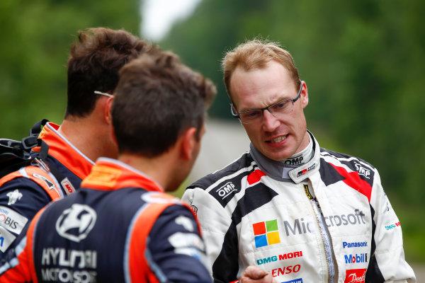2017 FIA World Rally Championship, Round 09, Rally Finland / July 27 - 30, 2017, Jari-Matti Latvala, Toyota, portrait, Worldwide Copyright: McKlein/LAT