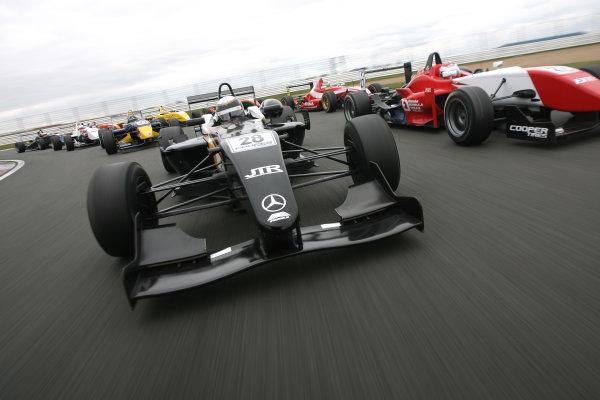 Media Day, Silverstone 31st March,Nick Tandy (GBR) - JTR Mygale MercedesWorld Copyright: Ebrey/LAT Photographic