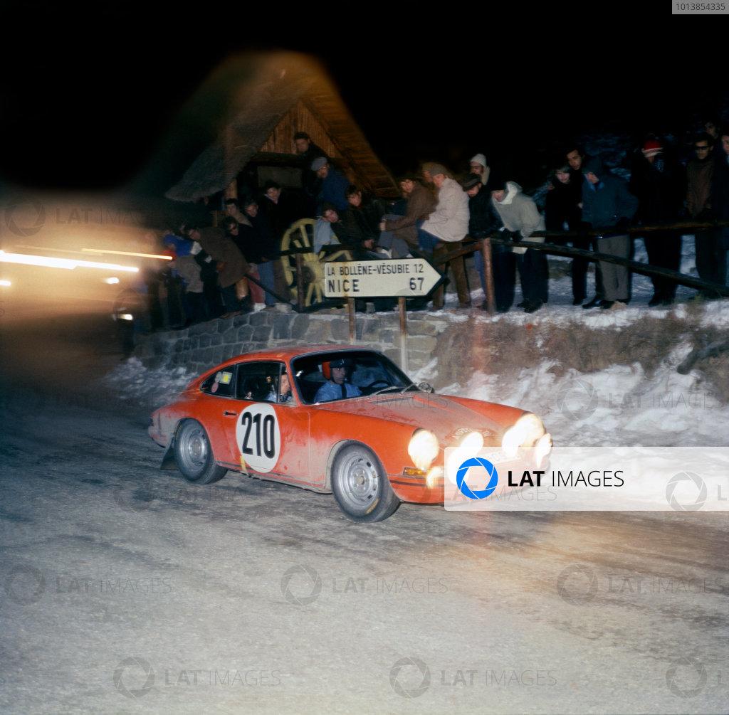 1968 Monte Carlo Rally.