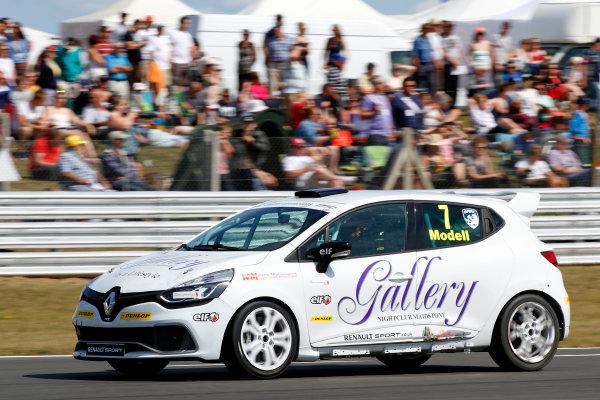 2014 Renault Clio Cup, Snetterton, Norfolk. 1st - 3rd August 2014. Devon Modell (GBR) Westbourne Motorsport Renault Clio Cup. World Copyright: Ebrey / LAT Photographic.