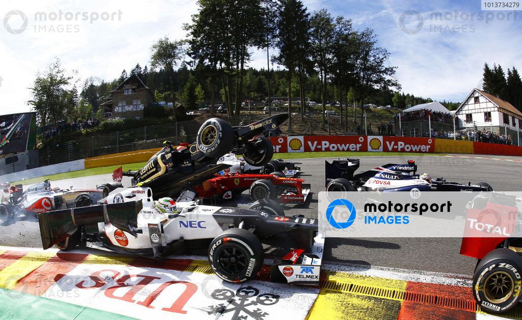 2012 Belgian Grand Prix - Sunday