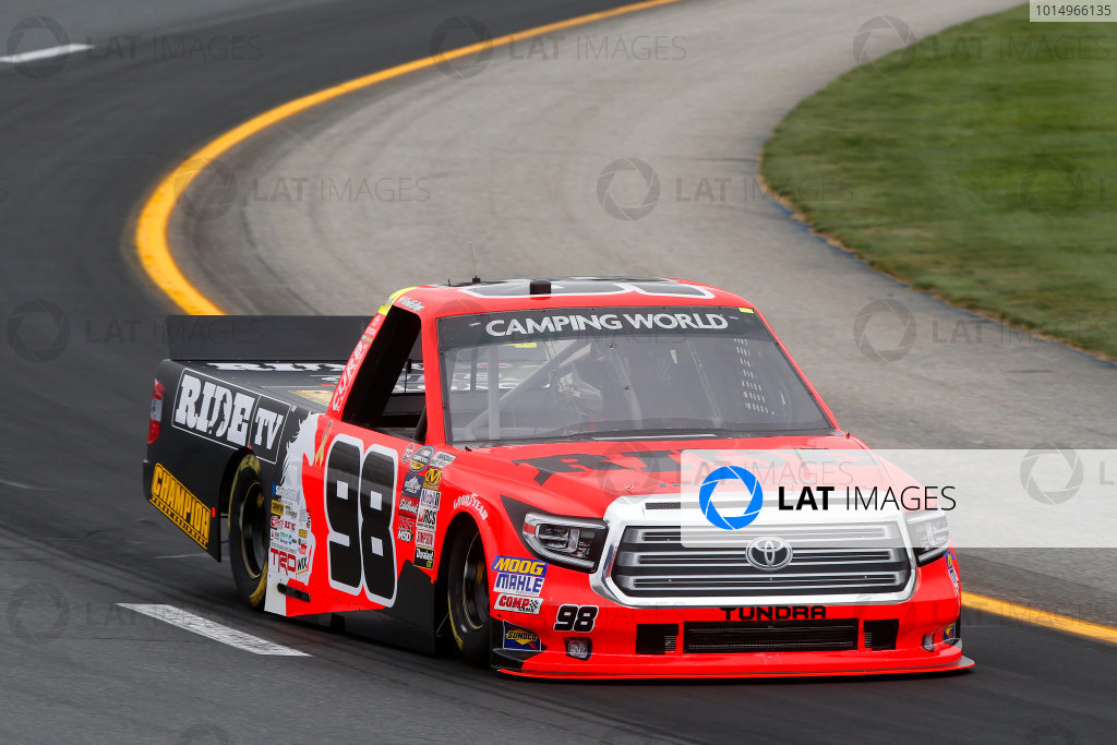 NASCAR Camping World Truck Series UNOH 175  New Hampshire Motor Speedway Loudon, NH USA Friday 22 September 2017 Grant Enfinger, Ride TV Toyota Tundra World Copyright: Lesley Ann Miller LAT Images