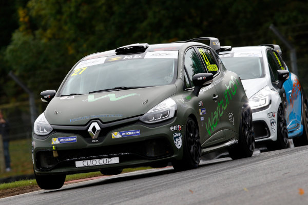 2017 Renault Clio Cup, Brands Hatch, Kent. 30th September - 1st October 2017, Nathan Harrison (GBR)  Renault Clio Cup World copyright. JEP/LAT Images