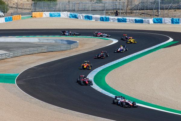 2017 FIA Formula 2 Round 10. Circuito de Jerez, Jerez, Spain. Sunday 8 October 2017.Nabil Jeffri (MAS, Trident).  Photo: Zak Mauger/FIA Formula 2. ref: Digital Image _X0W2748