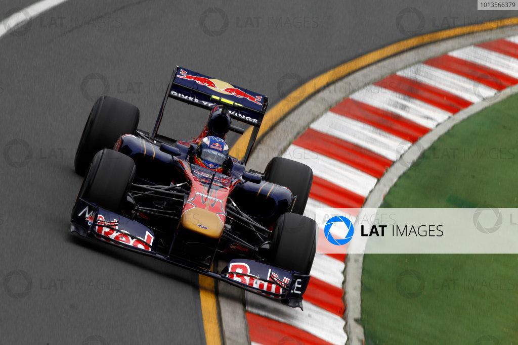 Albert Park, Melbourne, Australia25th March 2011.Daniel Ricciardo, Toro Rosso STR6 Ferrari.World Copyright: Andrew Ferraro/LAT Photographicref: Digital Image _Q0C7950