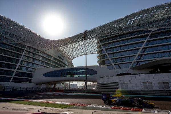 2016 GP3 Series Test 5. Yas Marina Circuit, Abu Dhabi, United Arab Emirates. Thursday 1 December 2016. Tarun Reddy (IND, DAMS)  Photo: Zak Mauger/GP3 Series Media Service. ref: Digital Image _L0U3693