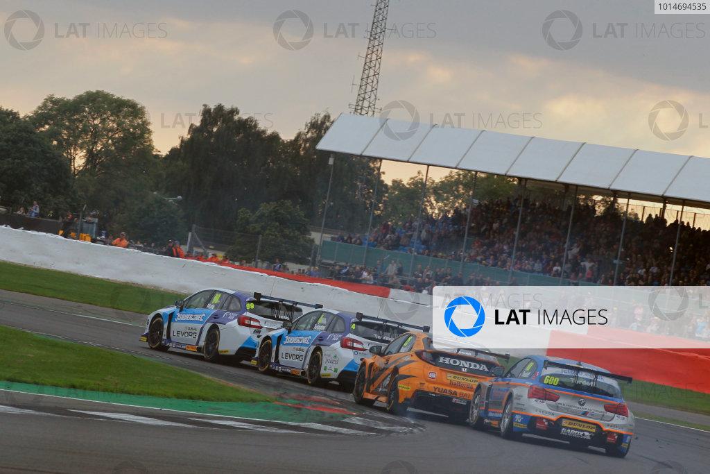 2016 British Touring Car Championship, Silverstone, 17th-18th September 2016, Sam Tordoff (GBR) Team JCT600 with GardX BMW 125i M Sport  World Copyright. Jakob Ebrey/LAT Photographic.