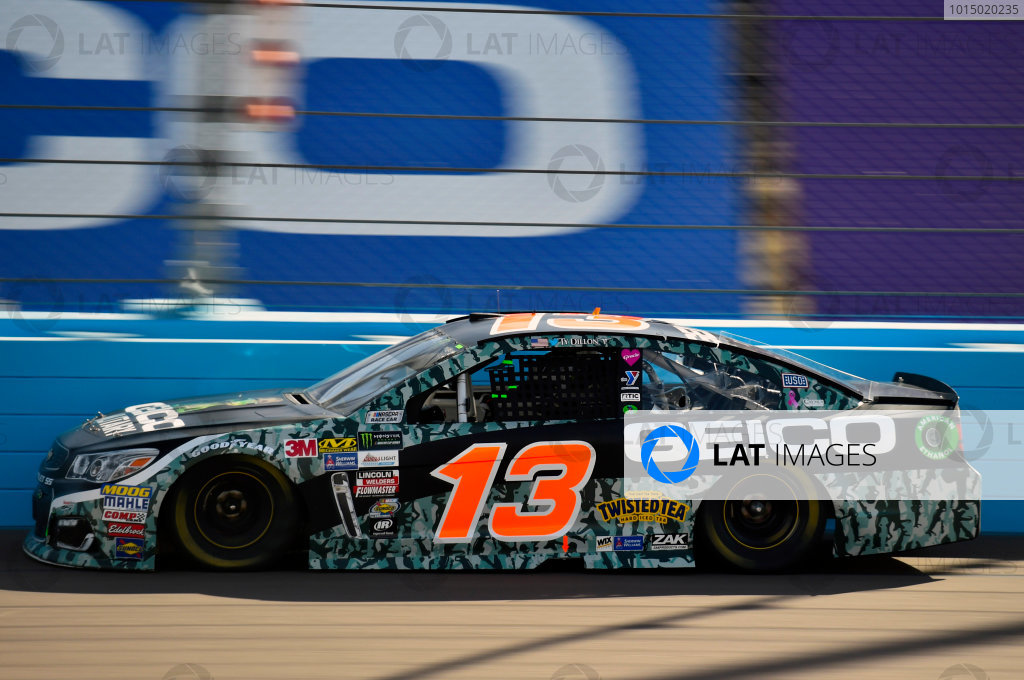 Monster Energy NASCAR Cup Series Can-Am 500 Phoenix Raceway, Avondale, AZ USA Sunday 12 November 2017 Ty Dillon, Germain Racing, GEICO Military Chevrolet SS World Copyright: Nigel Kinrade LAT Images