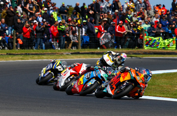 2017 Moto2 Championship - Round 16 Phillip Island, Australia. Sunday 22 October 2017 Brad Binder, Red Bull KTM Ajo World Copyright: Gold and Goose / LAT Images ref: Digital Image 24762