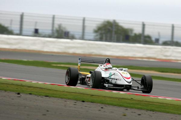 Silverstone, Northamptonshire. 7th - 9th October 2011.Kataro Sakurai (JPN) Hitech Racing Dallara Mugen.World Copyright: Ebrey/LAT Photographic.