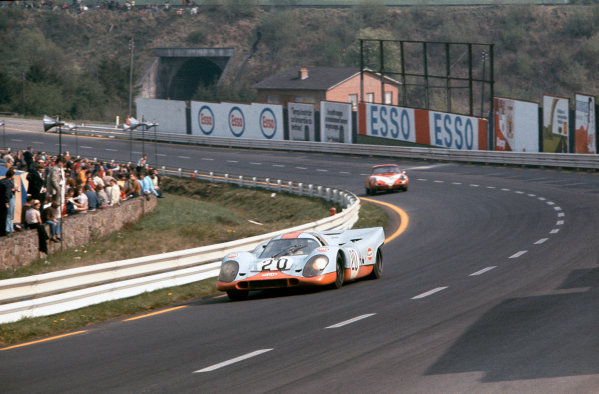 Spa-Francorchamps, Belgium. 9th May 1971. 