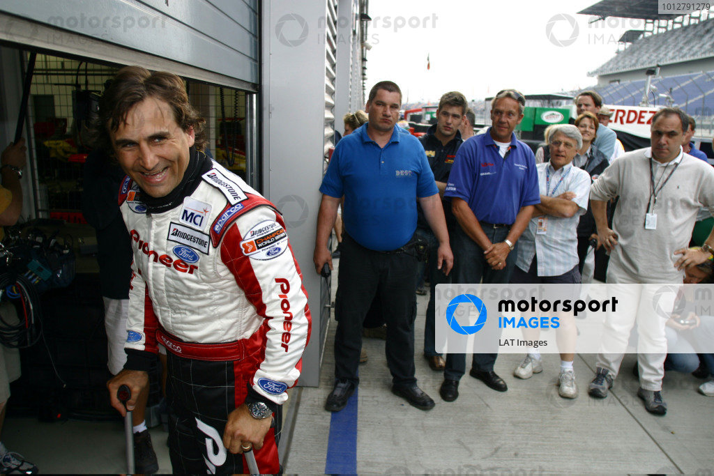 2003 ChampCar World Series, Eurospeedway, Lausitz, Germany. 10-11 May 2003.