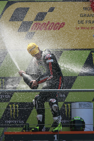 France LeMans 21- 23 May 2010Toni Elias Gresini Racing celebrates his Moto2 win