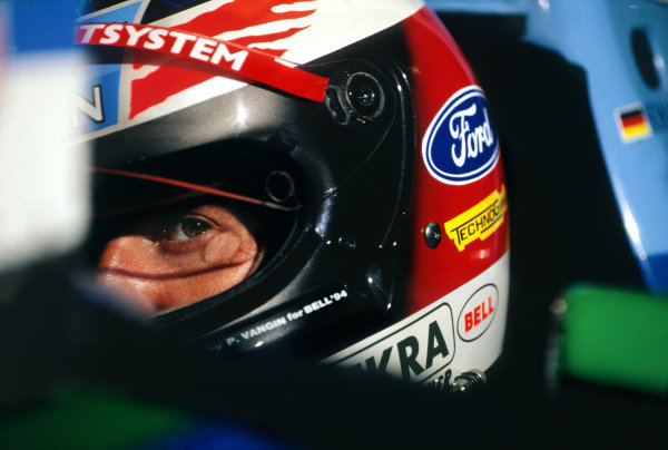 1994 Spanish Grand Prix. Catalunya, Barcelona, Spain. 27 - 29 May 1994. Michael Schumacher (Benetton B194 Ford), 2nd position, cockpit portrait. World Copyright: LAT Photographic. Ref:  Colour Transparency.