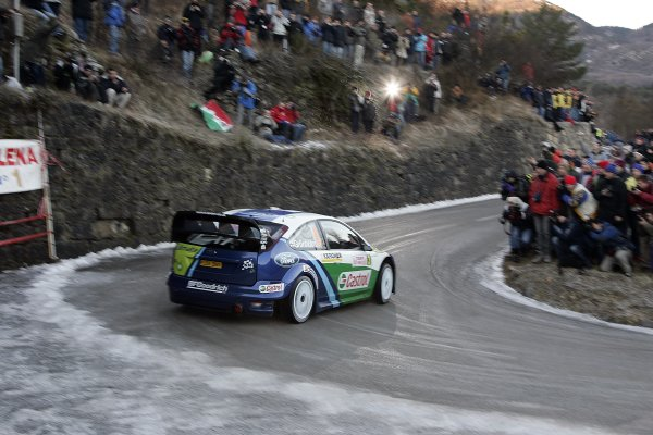 2006 FIA World Rally Champs. Round One, Monte Carlo Rally.19th - 22nd January 2006.Marcus Gronhol, Ford. Action.World Copyright: McKlein/LAT