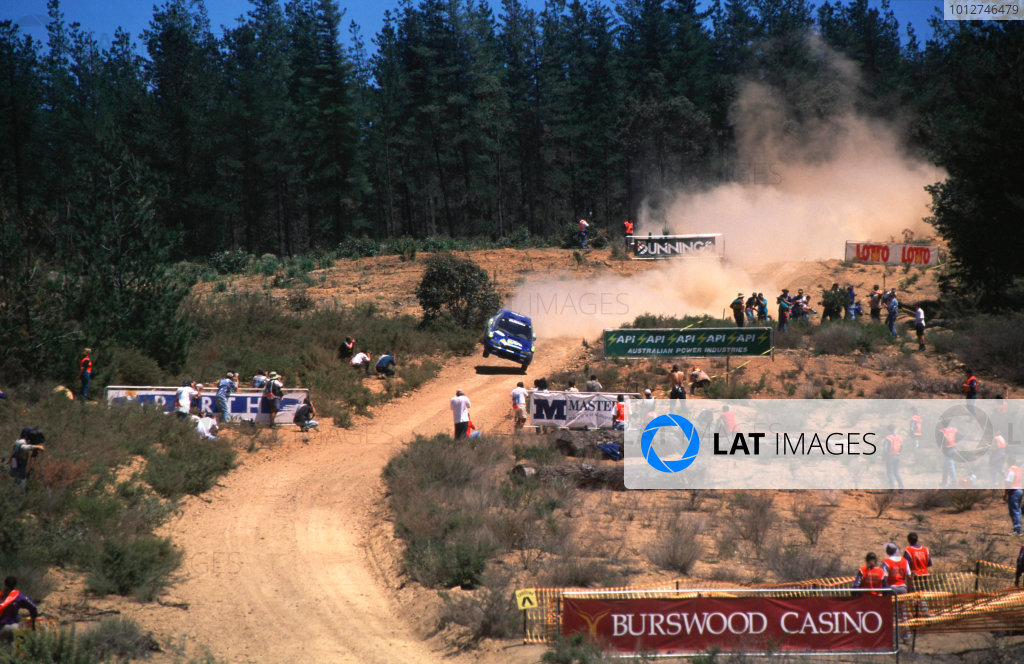 1997 World Rally Championship.Rally AustraliaColin McRae/Nicky Grist (Subaru Impreza WRC), 1st position.World - LAT Photographic