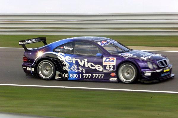 2001 DTM ChampionshipZandvoort, Holland. 22nd - 23rd September 2001.Darren Turner (Service 24h AMG Mercedes), action.World Copyright: Tingle/LAT Photographicref: 5 5mb Digital Image Only