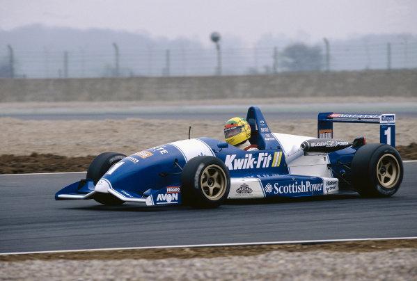 1996 British Formula Three ChampionshipSilverstone, England.Ralph Firman (Paul Stewart Racing), action.World Copyright: LAT Photographic