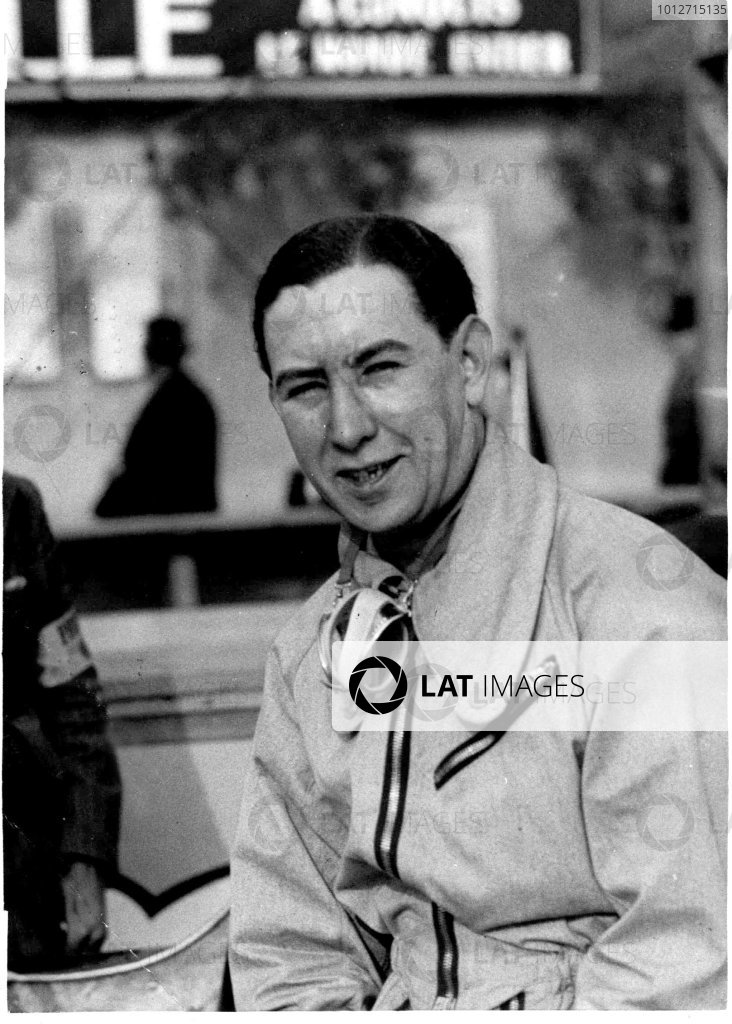 1934 Monaco Grand Prix, Monte Carlo.2 April 1934.Guy Moll (Scuderia Ferrari Alfa Romeo Tipo-B P3), 1st position.World - LAT Photographic