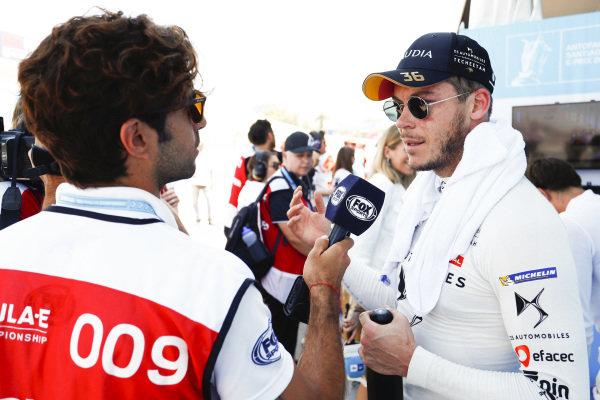 Andre Lotterer (DEU), DS TECHEETAH, DS E-Tense FE19, talks to the press