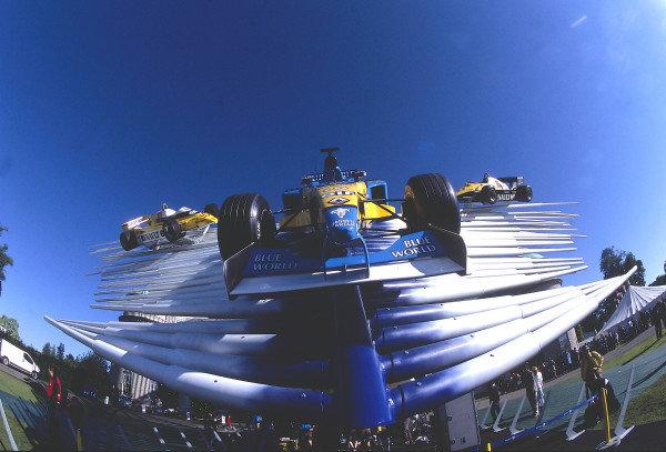 2002 Goodwood Festival of SpeedGoodwood, England. 12th - 14th July 2002.Formula 1 cars on display.World Copyright: Jeff Bloxham/LAT Photographicref: 35mm Image A07