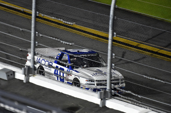 #40: Ryan Truex, Niece Motorsports, Chevrolet Silverado Jacob Companies