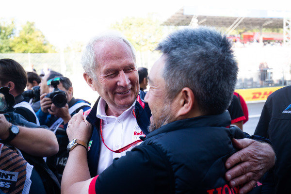 AUTODROMO NAZIONALE MONZA, ITALY - SEPTEMBER 08: Helmut Marko during the Monza at Autodromo Nazionale Monza on September 08, 2019 in Autodromo Nazionale Monza, Italy. (Photo by Joe Portlock / LAT Images / FIA F3 Championship)