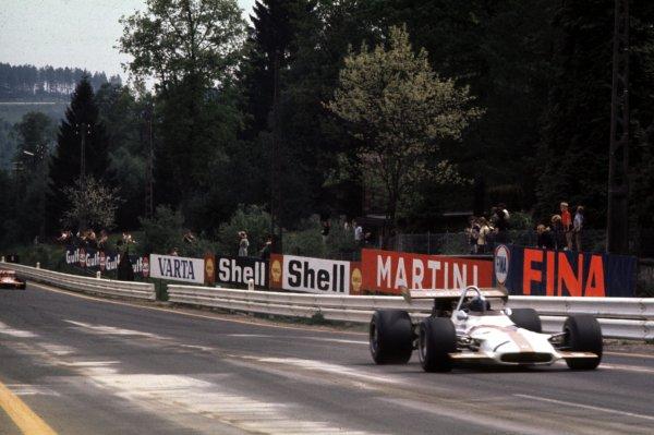 1970 Belgian Grand Prix.Spa-Francorchamps, Belgium.5-7 June 1970.Pedro Rodriguez (BRM P153) 1st position.Ref-70 BEL 16.World Copyright - LAT Photographic