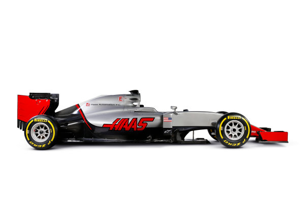 Haas VF-16 Studio Images. Thursday 18 February 2016. Photo: Haas F1 Team (Copyright Free FOR EDITORIAL USE ONLY) ref: Digital Image HAAS_02_TC