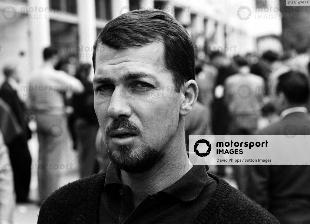 Jo Bonnier (SWE) Porsche finished seventh. Dutch Grand Prix, Zandvoort, 20 May 1962.