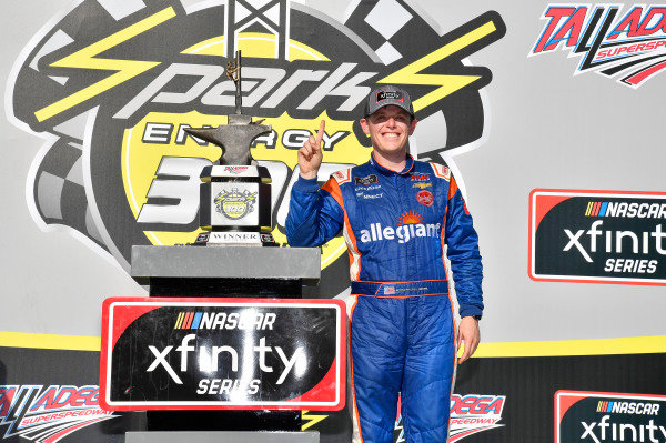 #23: Spencer Gallagher, GMS Racing, Chevrolet Camaro Allegiant wins