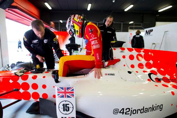 Circuit de Barcelona Catalunya, Barcelona, Spain. Tuesday 14 March 2017. Jordan King (GBR, MP Motorsport). Photo: Alastair Staley/FIA Formula 2 ref: Digital Image 580A0645